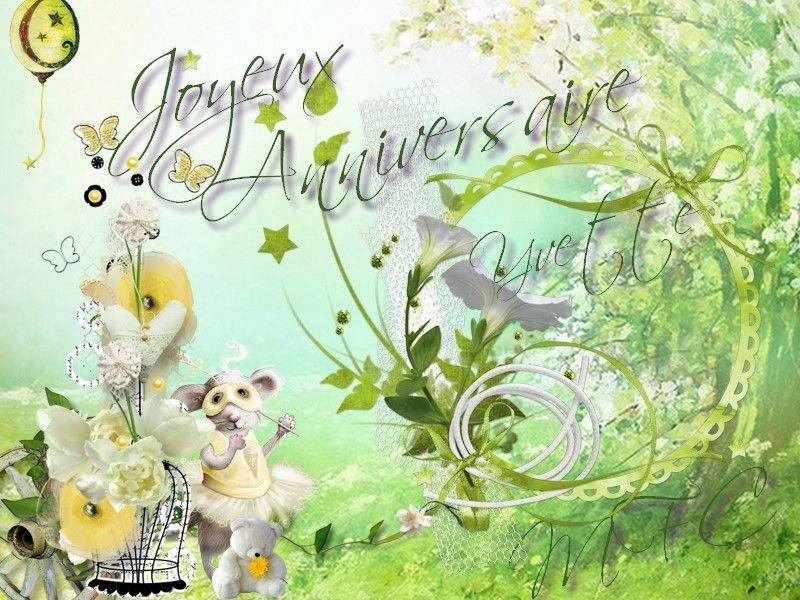 Joyeux Anniversaire Yvette Un Joyeux Anniversaire En Plein Nature